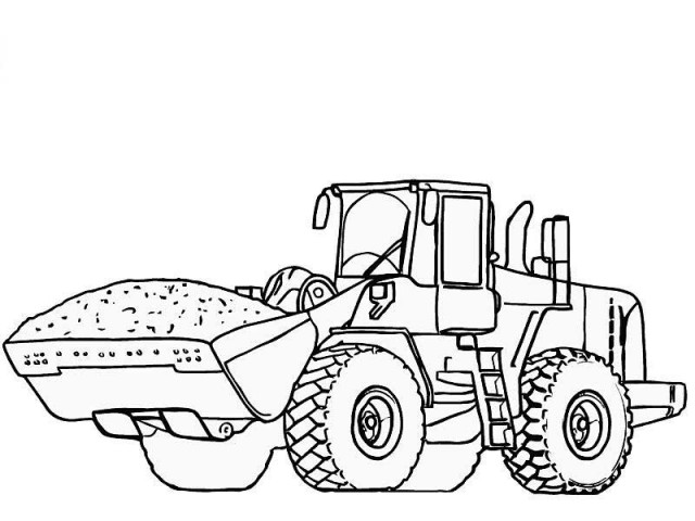 tractor tom coloring pages - photo#17